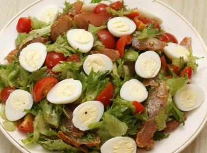 Салат с карпаччо