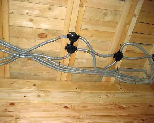 Как провести электропроводку в частном доме