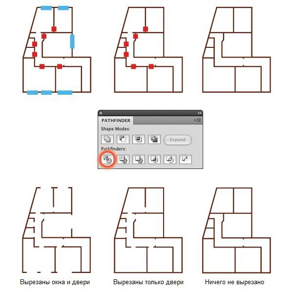 Как создать 3D-план помещения в Adobe Illustrator