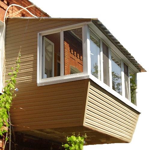 Как самому сделать балкон