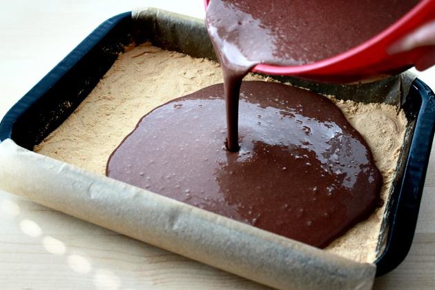 Как приготовить шоколадный пирог без муки