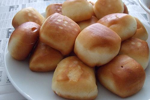 Простые булочки