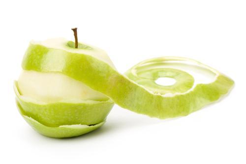 Маска для волос из зеленых яблок