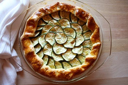 Как приготовить пирог с рикоттой и кабачками