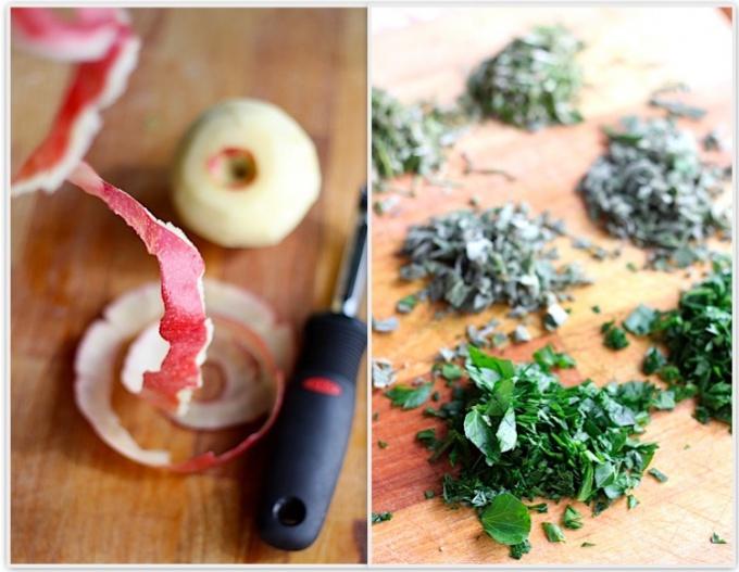 Как приготовить свиное каре с яблоками и травами