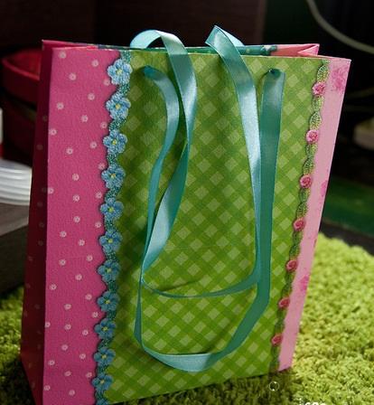 Сделать подарочный пакет своими руками фото 782