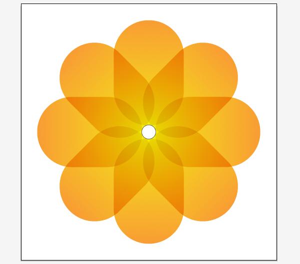 Как сотворить иконку в жанре iOS7, применяя Rotate Tool в Adobe Illustrator