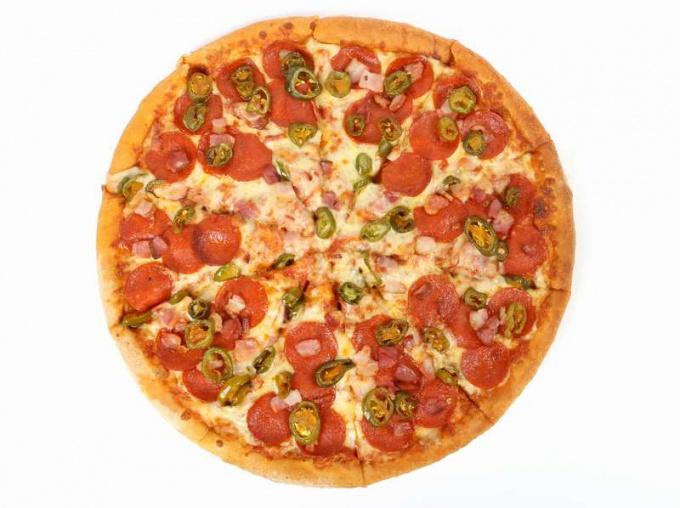 Готовим пиццу в СВЧ- печи