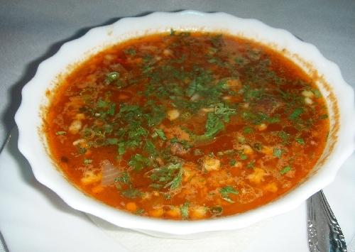 Как быстро сварить суп-харчо
