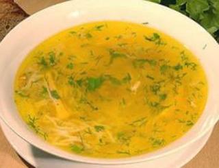 куриный суп с макаронами рецепт