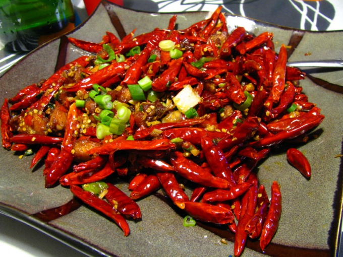 Рецепты острых блюд с перцем чили