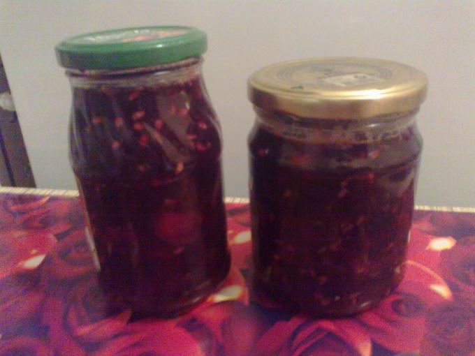 Как сварить яблочное варенье с виноградом