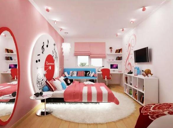 Как оформить комнату для девочки-подростка