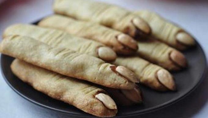 Печенье к Хэллоуин «Пальцы ведьмы»