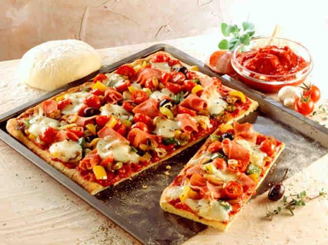Рецепты вкусного теста для пиццы
