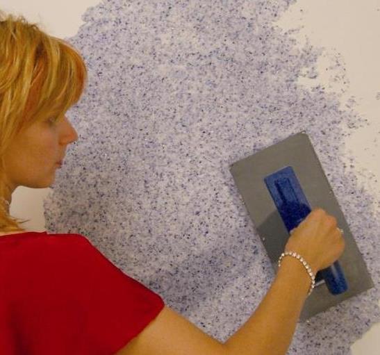 Как подготовить поверхность к нанесению жидких обоев