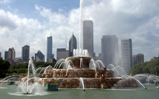 Достопримечательности Чикаго: Букингемский фонтан