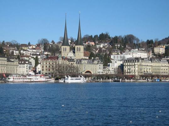 Красивые места Швейцарии: Цюрихское озеро