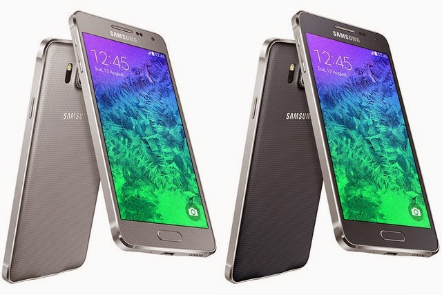 Samsung Galaxy Alpha: design and specifications