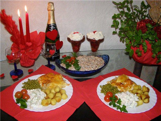 Как сделать красивый романтический ужин дома