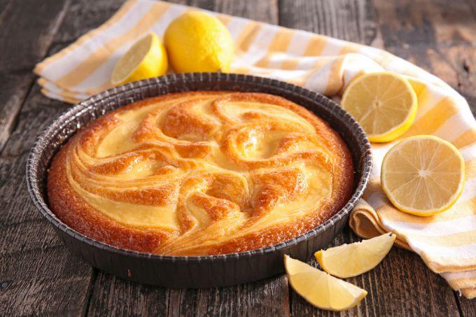 Кисло-сладкий вкус творожно-лимонного пирога