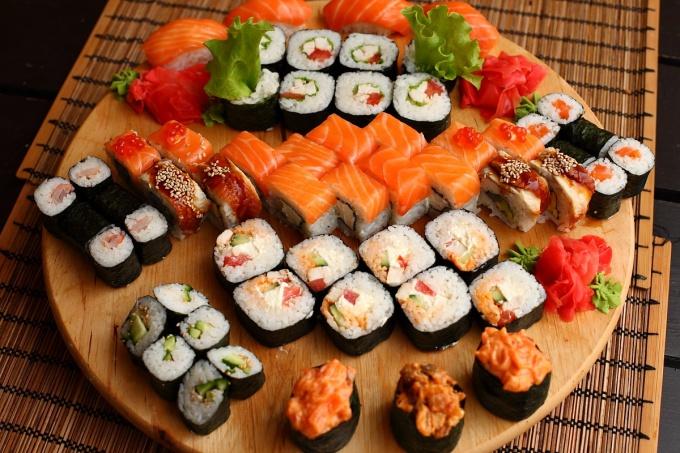Какие бывают типы суши
