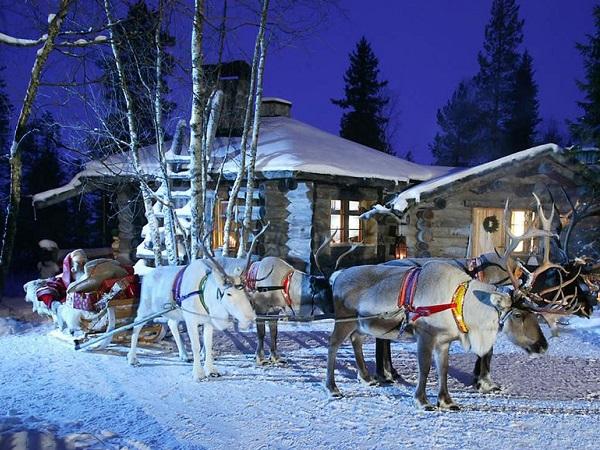 Отдых в Финляндии на Новый год