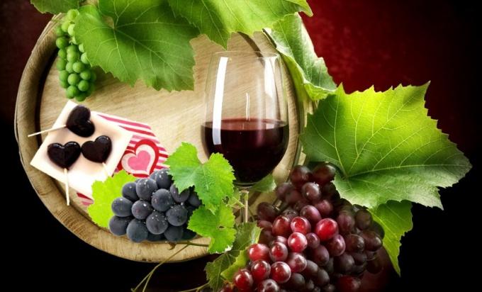 Леденцы из красного вина