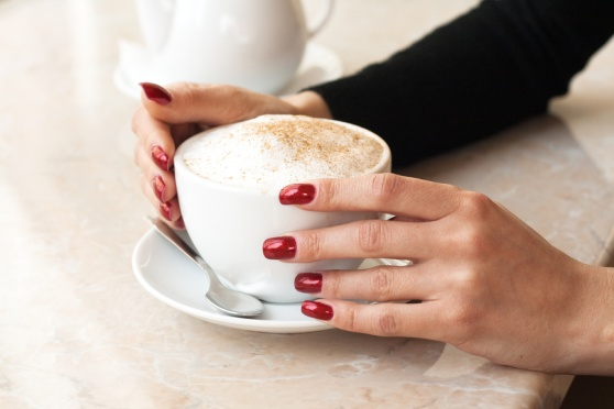 How to make winter manicure
