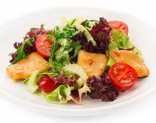 Готовим необычные салаты