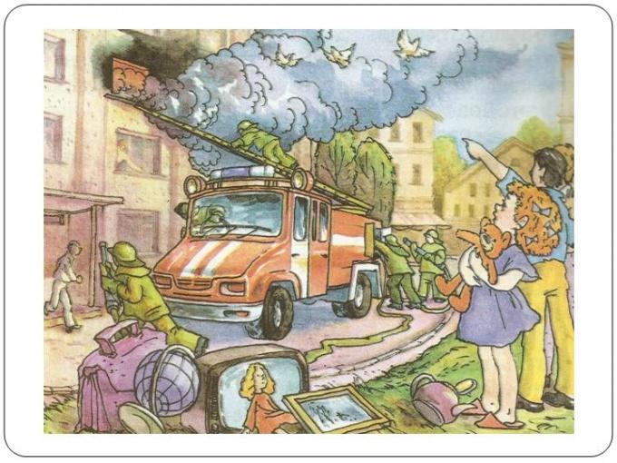 Как спастись при пожаре в квартире