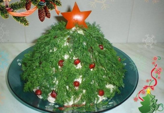 Салат «Оливье»: две вариации новогоднего салата