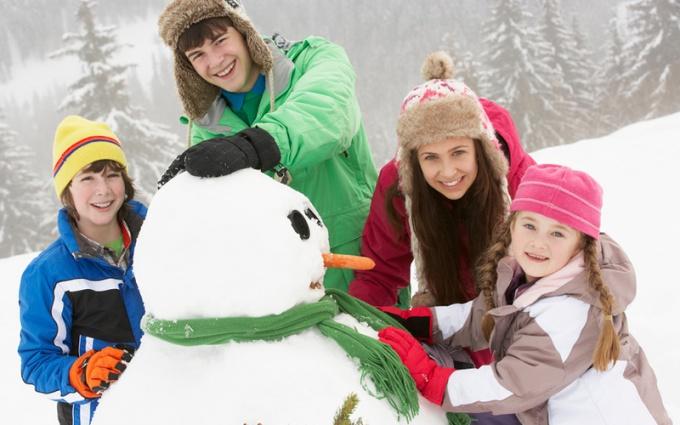 Зимние развлечения для всей семьи