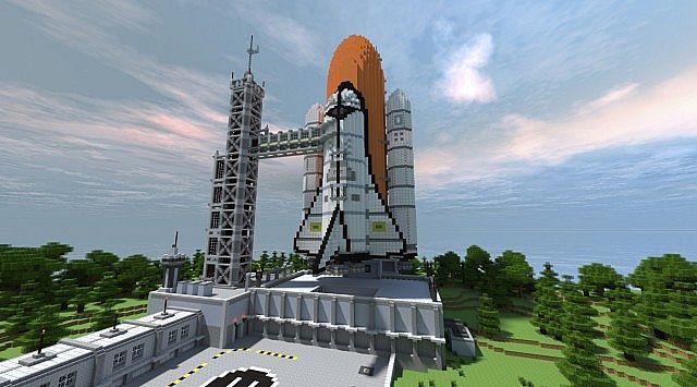 Ракета в МайнКрафт