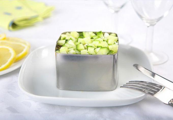 формочка для выкладывания блюд