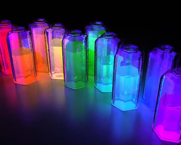 Как сотворить светящуюся жидкость