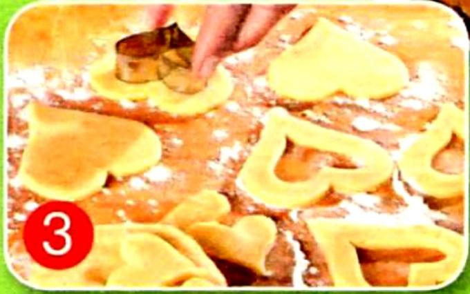 Одно тесто: три вида печенья