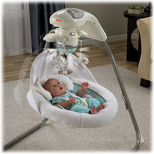 A swing for newborns