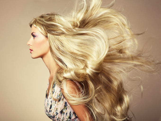 How to quickly grow beautiful long hair