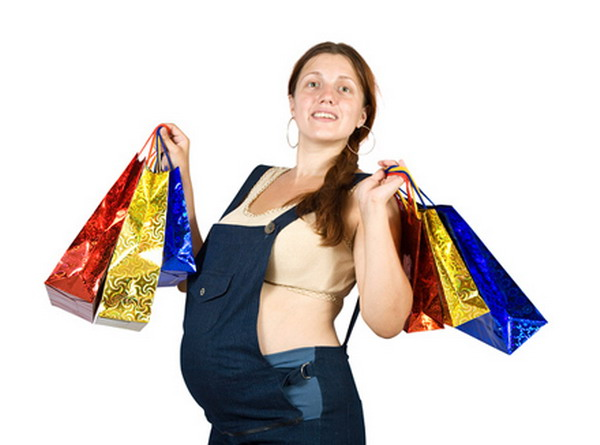 Shopping during pregnancy