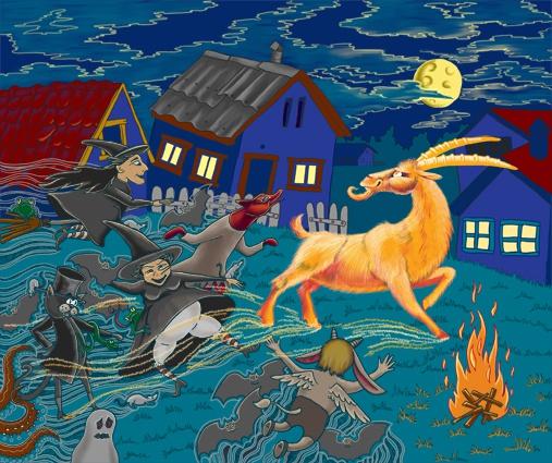 Что такое Вальпургиева ночь