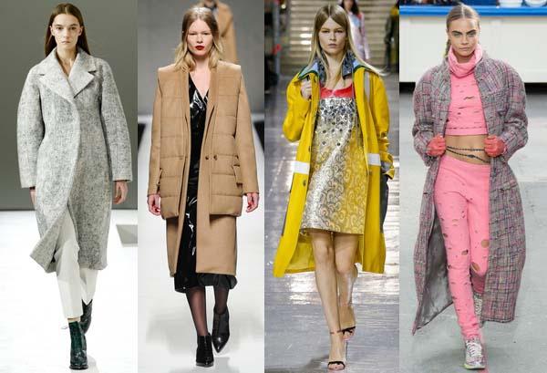 Модные цвета осень — зима 2014-2015