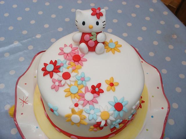 Как украсить детский торт в домашних условиях