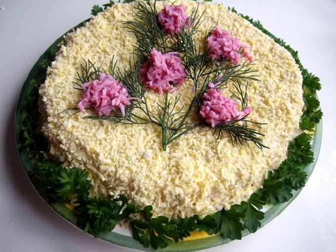 Салат из курицы: рецепт