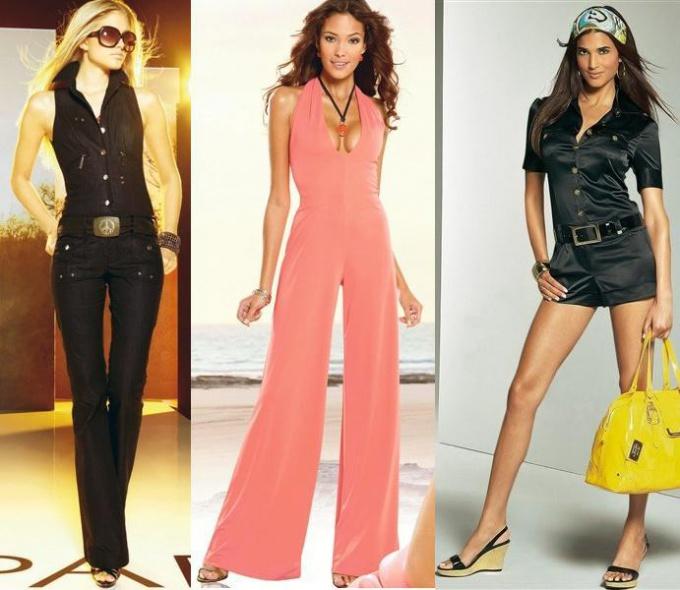 Женские модные комбинезоны