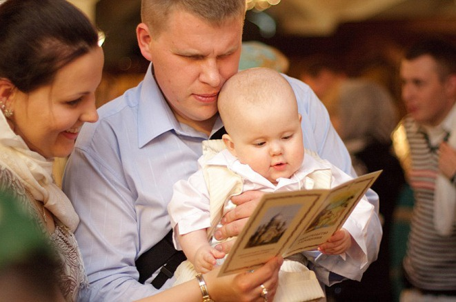 The duties of godparents during the sacrament of baptism