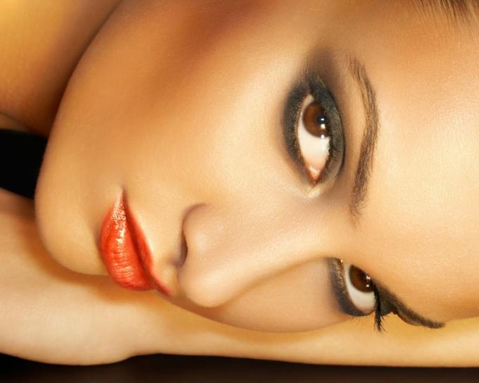 Анатомия глазницы и кожи век