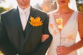 Свадьба в октябре - благословение и любовь
