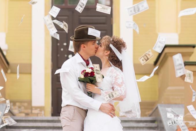 Свадьба в ноябре - богатство и роскошь