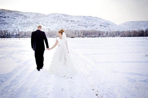 Свадьба в декабре - нежность и страсть